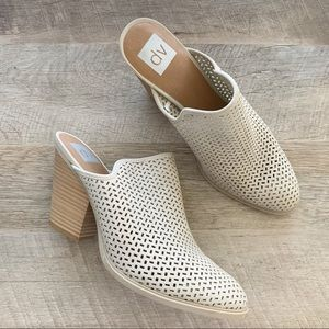 DV Dolce Vita Kenli Perforated Heeled Mules